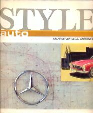 Style Auto no.4 Mercedes-Benz Ford Mustang Corvette Iso Grifo A3-C Italian ed