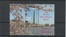 Palau 2012 MNH National Cherry Blossom Festival 1v Sheet Washington Momument