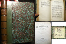 1825 HISTOIRE DU SACRE CHARLES X FRANCE WITH PLATES 1ST EDITION F.M. MIEL