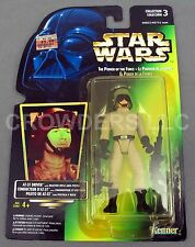Star Wars Power of the Force AT-ST Driver Rare Holograph Canada Cardback NIP '96