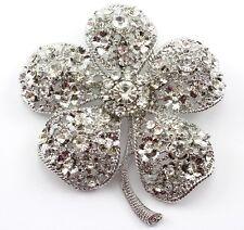 Clear Superb Austrian Rhinestone Crystal Wedding Bridal Brooch Pin Pendant