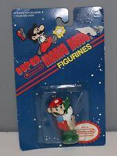 Vintage Nintendo 1989 Super Mario Bros. Mario Figurine With Beanstalk IN PACKAGE
