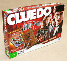 HARRY POTTER CLUEDO WORLD OF HARRY POTTER DISCOVER THE SECRETS BOARD GAME 2011