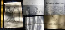 Heft Broschüre Bild Jesus Kirche Ring Hochzeit zu Kana Berlin alt Gemälde Myrte