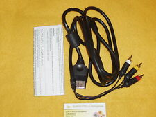 STANDARD AV CABLE ORIGINAL MICROSOFT XBOX CABLE USED GOOD CONDITION NO XBOX 360