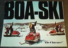 VINTAGE 1971 BOA-SKI SNOWMOBILE BROCHURE 8 PAGES   (262)