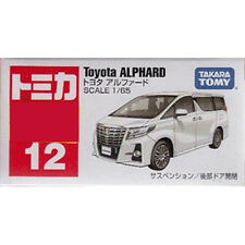 Takara Tomy Tomica #12 Toyota Alphard 1/65 Diecast Toy Car JAPAN Free shipping