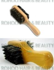 MINI BOAR BRISTLES CLUB BRUSH *SOFT AND HARD BRISTLES* FOR HAIR AND BEARD