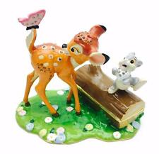 Disney Traditions Bambi & Thumper Large Trinket Figurine Boxed New DI341
