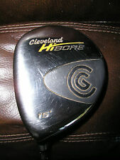 LH Cleveland HiBore 15* 3 Wood Original Graphite Regular Flex