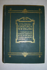 COLONIAL FURNITURE OF NEW ENGLAND Irving Whitall Lyon, 1925 Ltd. Edn., illust.