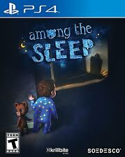 Among the Sleep - PlayStation 4 Brand New Ps4 Games Sony Factory Sealed