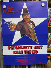 PAT GARRET JAGT BILLY THE KID Filmplakat Poster SAM PECKINPAH James Coburn 1972