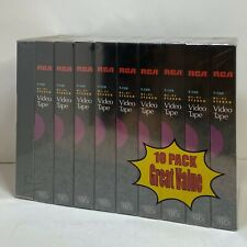 New BASF -T-130 1 Extra Quality 6.5 Hour Blank VHS Tapes-4 Pack In Shrink