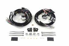 Handlebar Wiring Kit Chrome Switches 2007-2013 Harley Touring Radio and Cruise