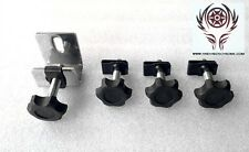 Harley Davidson Touring Saddlebag Locks/Mounting/Security Theft Deterrent..Black