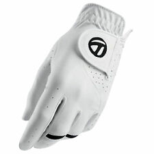 NEW TaylorMade All Weather White Golf Glove 2-Pack LH Mens Cadet (L)