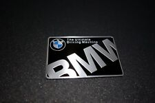 BMW Ultimate Embossed Metal Badge Emblem Sticker Logo Series 1 3 5 7 M3 M4 M5