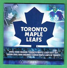 2005 / 2006 Season Toronto Maple Leafs Gift Coin Set - Commemorative 25 Cents