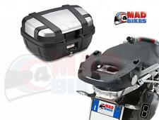 GIVI TRK52 TREKKER MONOKEY TOP BOX AND SR5108 RACK FOR THE BMW R1200GS 2013,14