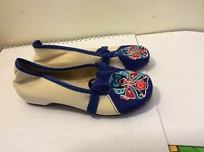 Chinese Old Beijing Cloth Shoes Women Casual Shoes  Embroidered shoes size 7.5