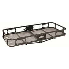 """63155 Pro Series 20"""" x 48"""" Cargo Carrier with Rails for 1-1/4"""" Receiver Hitch"""