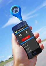Weather Flow Smartphone Wind Meter Measure Speed Gusts IPHONE GALAXYS SAILING