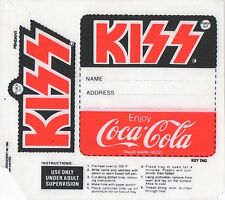 Rare KISS / COCA-COLA Shrinky Dink AUCOIN Official Australia