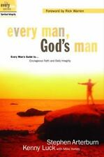 Every Man, God's Man - Stephen Arterburn & Kenny Luck (2003, Paperback)