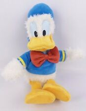 "Authentic Disney Parks Donald Duck Plush Toy Doll 11"" Tall Mini Bean Bag EUC"