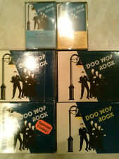 Bargain 1 box of 2 of Doo Wop Rock Cassette tapes (M)