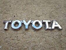 OEM Factory Genuine Stock Toyota emblem badge decal logo script Camry Corolla