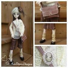 "bjd msd 1/4  girl 16""  complete outfit clothes   -  resinsoul or similar size"