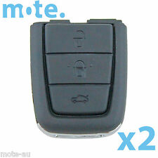 2 x Holden VE SS SSV SV6 Commodore Replacement Key Blank Shell/Case/Enclosure