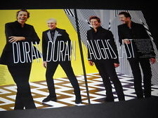 DURAN DURAN seldom seen TWO PIECE PROMO DISPLAY AD from 2015