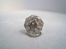 NEW!! Authentic Pandora Silver Charm Dangle Blooming Dahlia 791829NBP