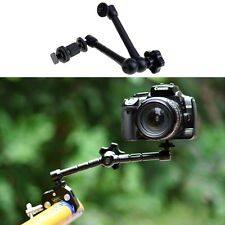 """DSLR Camera LCD Monitor 11"""" Magic Arm Mount Hot Shoe + Clamp Claw  1/4"""" Screw"""