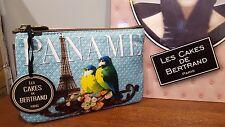 Porte monnaie - Mini pochette Les Cakes de Bertrand - Tour Eiffel - Paris