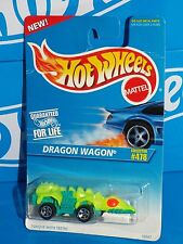 Hot Wheels 1996 Mainline Release #478 Dragon Wagon Flor Yellow & Green w/ 5SPs