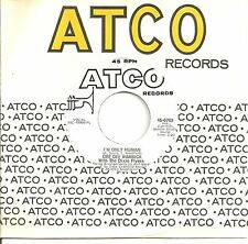DEE DEE WARWICK 45  I'm Only Human / If This Was The Last Song  (promo) -  NM
