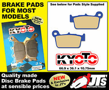 REPLICA REAR DISC BRAKE PADS TO SUIT SHERCO SM 4.5i F Supermoto (04-07)