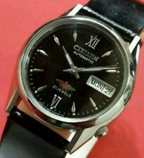 Vintage  citizen mens day date automatic japan working wrist watch MM6082