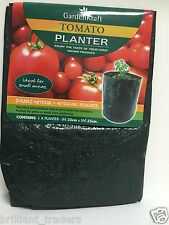 LARGE VEGETABLE & TOMATO PLANTER With Handle Conservatory/Deck/Patio Grow Bag