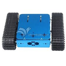 Assembled Aluminum Tracked Vehicle Tank Chassis Tractor Robot Car for Arduino