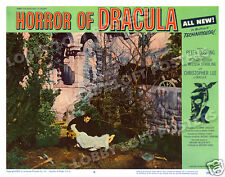 HORROR OF DRACULA LOBBY SCENE CARD # 5 POSTER 1958