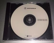 MOTOROLA BOTH MCS2000 and MTS2000 2 FOR ONE! Programming Software Disk R02.03.00