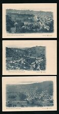 Derbyshire MATLOCK BATH x 3 c1900s Reliable Series PPCs