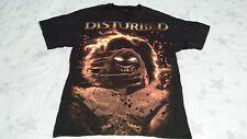 DISTURBED T-Shirt Size MEDIUM Asylum Lost Children Rock USED