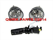 2004-2015 Nissan Titan Fog Light Lamps Switch Kit w/o Auto Head Lights OEM NEW