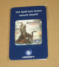 Assassin 'S CREED 3 III RARE PROMO Screen/DISPLAY CLEANER PULITORE/